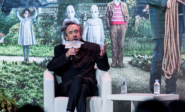 Célebre director Tim Burton trae a China su última película