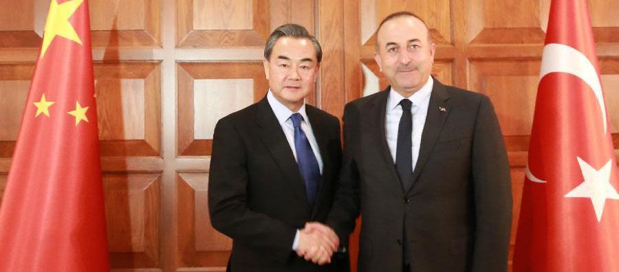 Cancilleres chino y turco abordan cooperación estratégica y antiterrorista