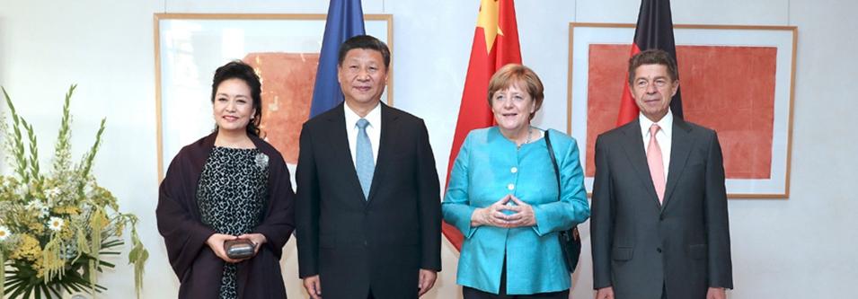 Presidente Xi llega a Berlín para realizar visita de Estado a Alemania