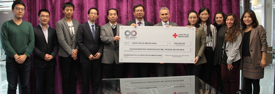 Empresas chinas en México donan a damnificados mexicanos más de nueve millones de pesos