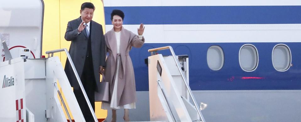 Presidentes chino e italiano acuerdan promover mayor desarrollo de relaciones